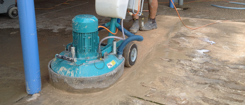 Concrete grinding & polishing